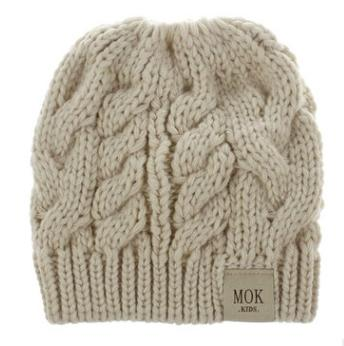 #4 knitted beanie hat