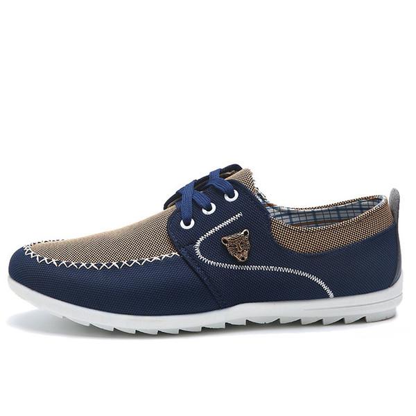 Drop Shipping Erkekler Rahat Ayakkabılar Büyük Boy 39 48 Erkekler için Tuval Ayakkabı Sürüş Ayakkabı Yumuşak Comfortatble Adam Ayakkabı