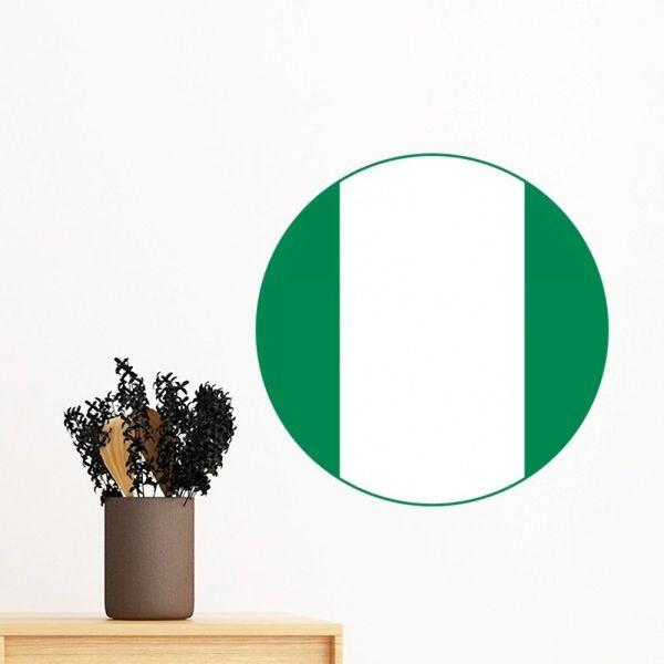 Nigeria Africa National Emblem Removable Wall Sticker Art Decals Mural DIY  Wallpaper For Room Decal Stickers For Walls Decoration Stickers For Walls