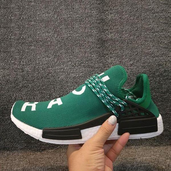 Compre Nuevo Pharrell Williams Human Race Hombre Zapatillas De Deporte Para Mujer Zapatillas De Deporte De Mujer Con Cordones Y Zapatillas De Deporte