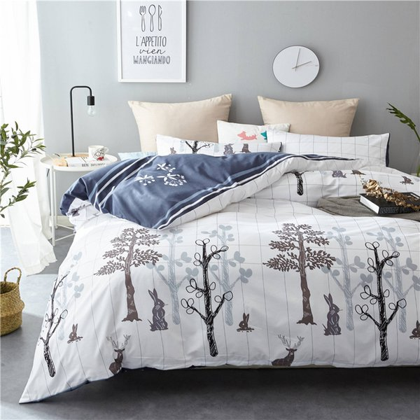 Yi chu xin 3d comforter bedding set queen size duvet cover set with pillow case twin size comforter bed sets