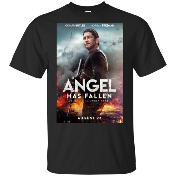 Angel Has Fallen 2019 Loyalty Is Under Fire Black T-Shirt M-3XL