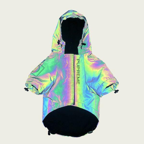 Tide Pet Coats Reflect Light Одежда для собак Высококачественная зимняя непромокаемая непромокаемая куртка для собак Teddy Bulldog Schnauzer Clothes