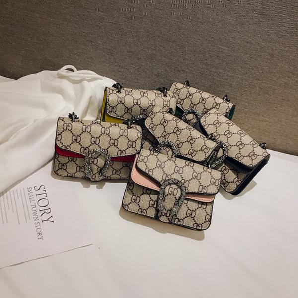 Kinder Designer Geldbörsen New Style Baby Mädchen Mini Prinzessin Geldbörsen Exquisite Hardware Dekoration Cross-body Taschen Kinder Messenger Bags Geschenke