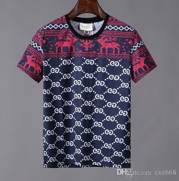 Camicia firmata del crimine estate calda con maglietta maniche corte T-shirt traspirante crimine pulsante per mettere insieme una T-shirtTT232
