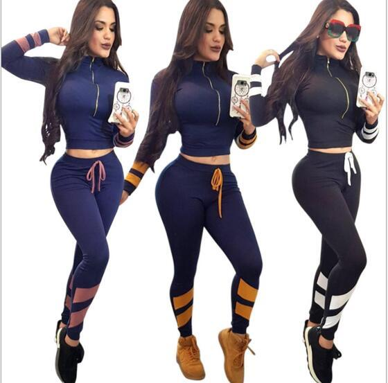 2-piece women's hoodie sports top pants sportswear ladies sweatshirt spring and autumn sports suit jogging suit sportswear casual suit