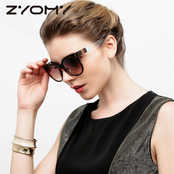 elegant women sunglasses vintage round eyewear oversized uv400 brand designer gafas big frame trend classic goggle shades mirror - from $28.19