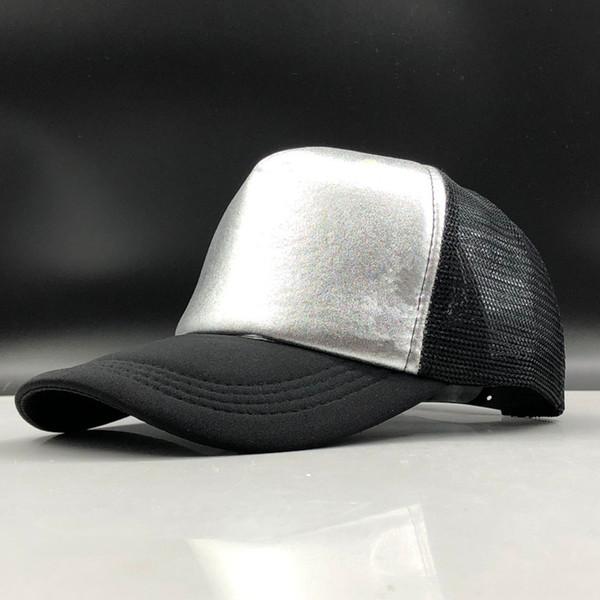 2019 Simple Men Baseball Cap Women Snapback Summer Mesh Hats Casual Sport Sequin Caps Drop Shipping Hat Boy Girls Cap