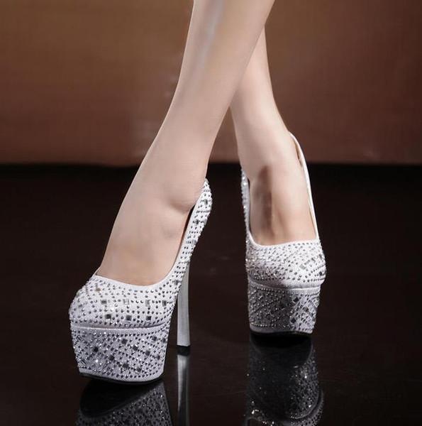 Silver closed toe