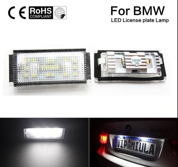 Kein Fehler LED Kennzeichenbeleuchtungssatz für BMW E66 4Tür 06-08 7er M, nur E65 überarbeitet