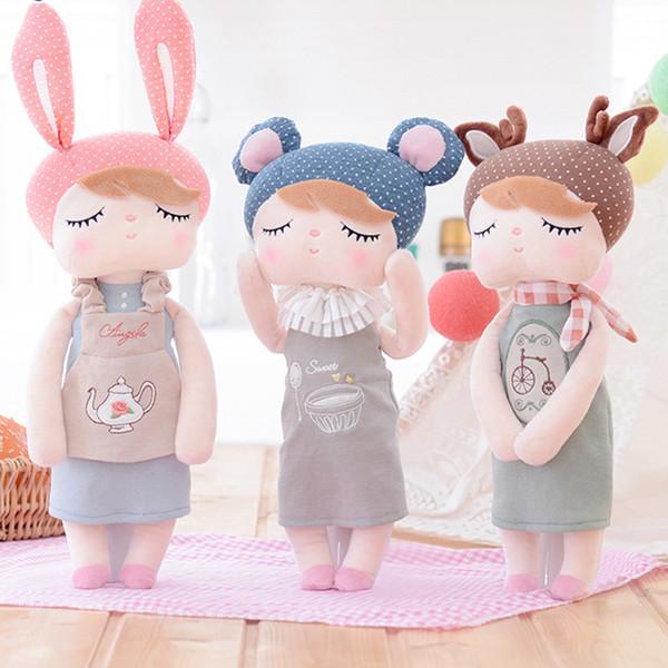 13 Inch Lovely Retro Angela Rabbit Toy Plush Stuffed Animals Toys For Children kids Soft Rabbit Dolls Girls Accompany Sleep Doll