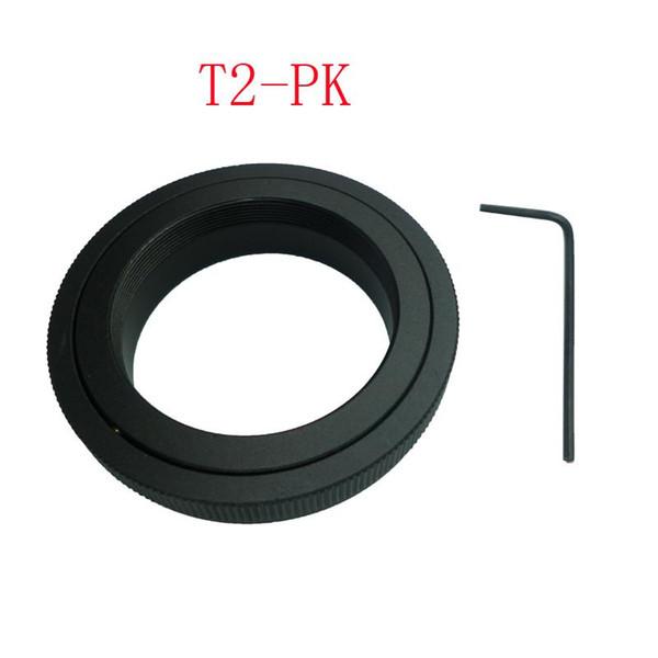 10pcs/lot T2-PK T2 T mount Lens For Pentax K mount adapter K-1 K-S1 K-S2 K-m K-3 II K-5 K-5 IIs K7 K-30 K-50 K-70 K-10D K-200
