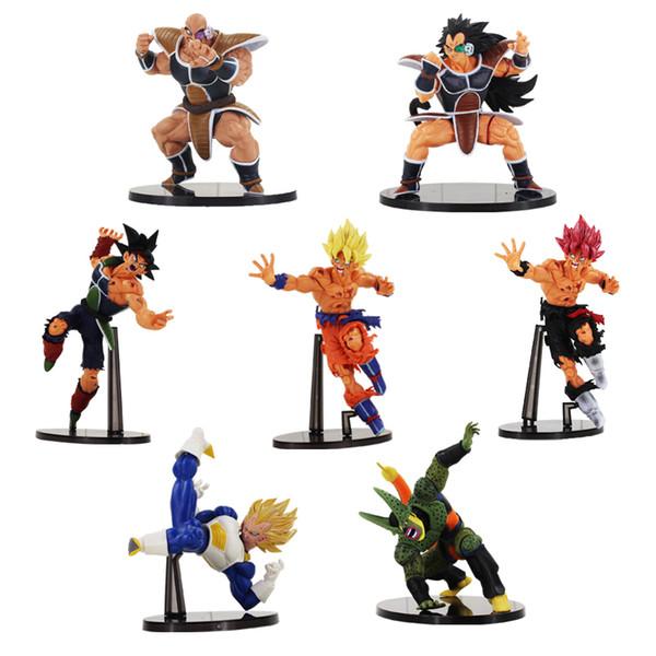 Acheter Scultures Big Dragon Ball Z Fils Goku Bardock Végéta Cellule Deuxième Mode Raditz Nappa Figure Jouet Dbz Modèle Poupées Y190529 De 19 02 Du