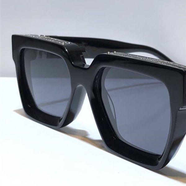siyah gümüş gri lens