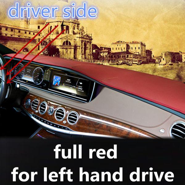 sol için kırmızı