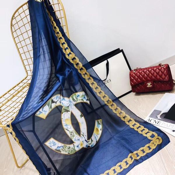 Женщины Подражали шелковые платки Негабаритных Easy Matching Pashmina Новое прибытие тур Доступно платки пляжные богемные полотенца