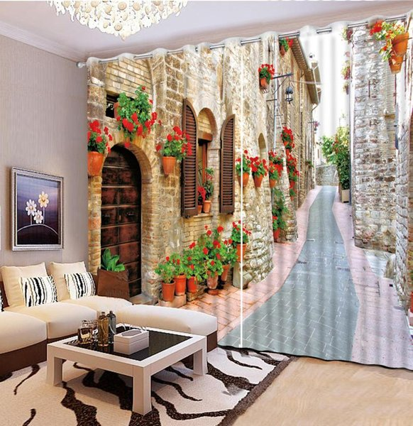Großhandel 2019 Neue Vorhang 3d Wandbau Wohnzimmer Schlafzimmer Vorhang  Hause Fenster Moderne Schlafzimmer Vorhänge Von Tinaya, $111.86 Auf ...