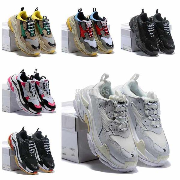 2019 yeni Yeni Üçlü S Sneakers, Yüksek Moda Spec Eğitmenler, Erkekler için Ayakkabı, Koşu Adam Ayakkabı, erkekler Işkembe-S Eğitim Sneakers Ayakkabı