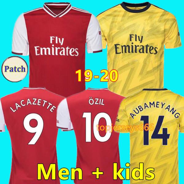Acheter Arsenal 19 20 Maillot De Football 2019 2020 Maillot De Foot Arsenal Fc AUBAMEYANG ÖZIL TORREIRA LACAZETTE MKHITARYAN XHAKA HENRY KOSCIELNY