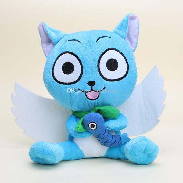 retail Fairy Tail 9inch 23cm Cute Happy plush Doll Stuffed toy