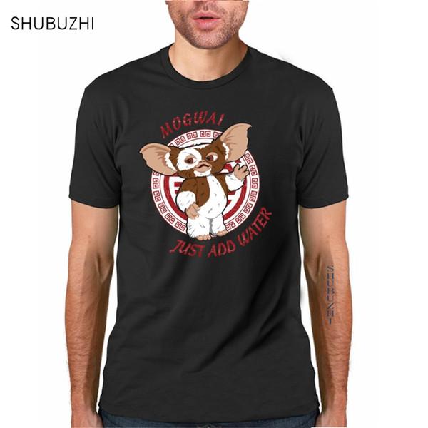 хлопок футболка летняя мода мужская футболка Gremlins Gizmo Футболка с рисунком повседневная футболка с коротким рукавом с круглым вырезом большой размер sbz317