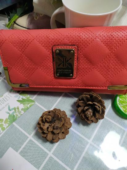 KK Kim Kardashian Kollection Brand Designer Long Wallet Clutch Bird Women Purse Simple Fashion Coin IDCard Holder Male Phone Bag Men Leathe