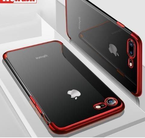For Iphone 8 7 6 6s Plus Silicone Clear Soft Coque Tpu Back Cover Cases For Iphone 7 X Xr Xs Max Case