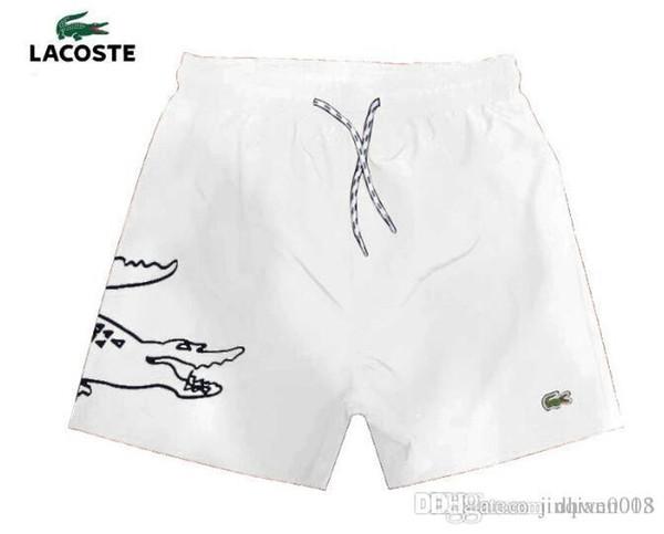 OFERTA Venta al por mayor-verano Trajes de baño Pantalones de playa Pantalones cortos para hombre Pantalones cortos de surf Pantalones cortos de natación para caballos pequeños Pantalones cortos deportivos de bain homme 2018