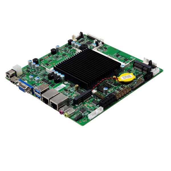 Intel J1900/J1800 Industrial motherboard 17*17 X86 mini-itx computer motherboard 2-6 com