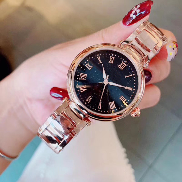 New Luxury Women Watch Diamonds Quartz Lady Stainless Steel Brand Watches Rhinestone Rose Gold Wristwatches Clock Gifts Relogio Feminino