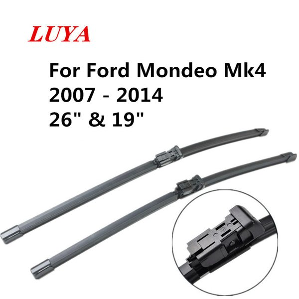 """LUYA wiper Blade in Car windshield wiper For Ford Mondeo Mk4 2007 - 2014 size:26"""" & 19"""" car accessories styling"""