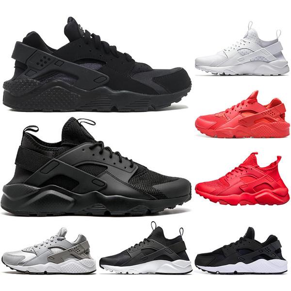 Nike Air Max Com meias 2019 luxo ACE Huarache 4.0 1.0 clássico triplo preto vermelho tênis para mulheres dos homens Huaraches sports sneaker formadores