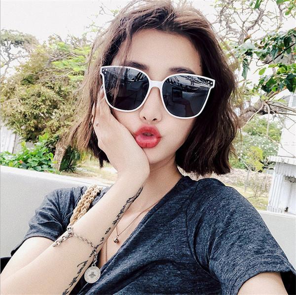 Korean Fashion V Brand Sunglasses Fashion Retro-vintage Ins Net Red Great Frame GM Sunglasses