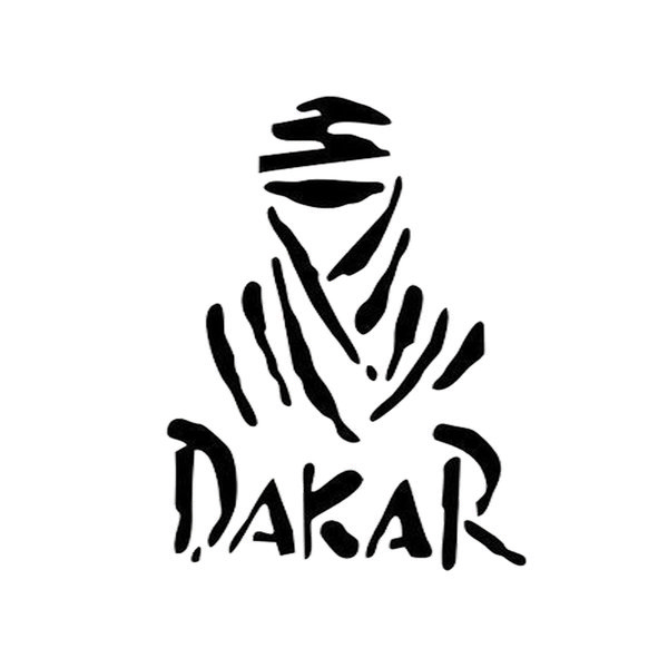 Dakar Creative Vinyl Car Stickers Car Door And Window Bumper Decoration Interesting Personality