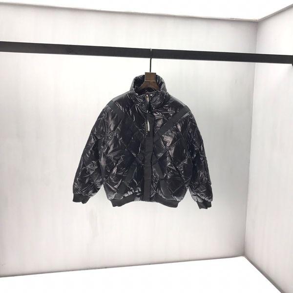 19 Gli uomini e le donne della stessa autunno e l'inverno piumino giacca giacca di pelle 0q91 abbigliamento in cotone asciugamano ricamato