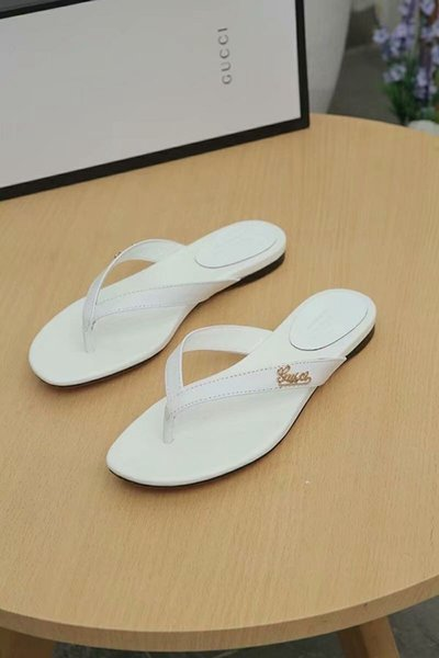 Best Quality Flip Flops Genuine Leather And Exquisite Women's Fashion Sandals Soft And Comfortable Simple Style Genuine Leather Slippers