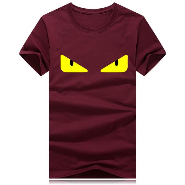 2019 Estate Designer T-shirt per uomo Fashion Bag Bugs occhi Stampa T Shirt Abbigliamento uomo Italia Marca manica corta Tshirt Donna Top