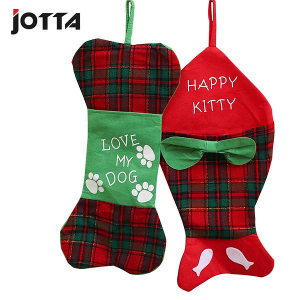 새로운 스타일의 크리스마스 외국 크리스마스 일 용품 생선 모양의 양말 선물 가방 양말