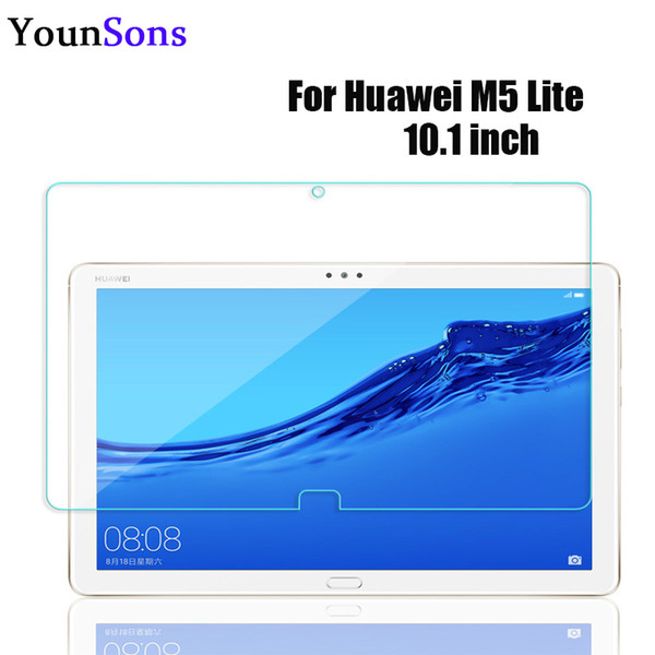best selling New Full Tempered Glass Film For Huawei M5 Lite 10.1inch Glass Screen Protector Protective For Huawei M5 Lite Saver 9H