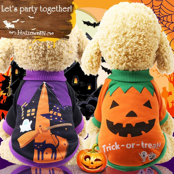 Pumpkin Cheap Dog Clothes For Small Dogs Winter French Bulldog Coat Witch Dog Halloween Costume Chihuahua Cute Puppy Pet Clothes