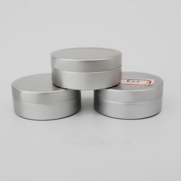 100 x 10g 20g 25g Mini Sample Aluminum Jars Pot Makeup Eye Gel Oil Soap Lip Balm Whitening Cream Foot Face Mask Tins Packaging