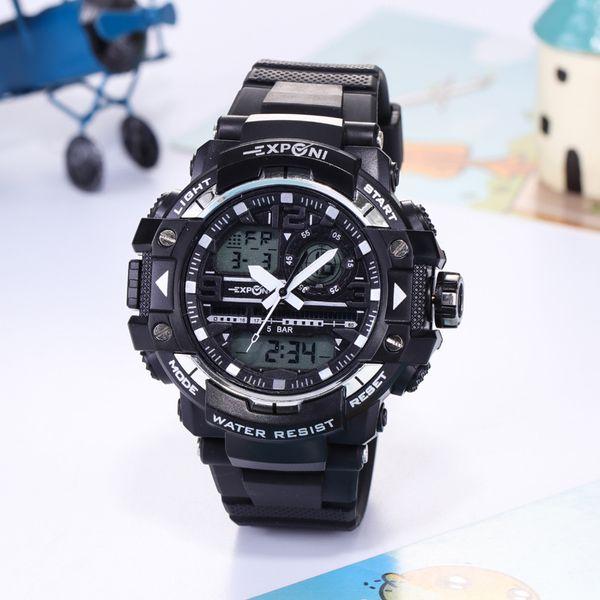 New Creative High-end Electronic Watch Waterproof Sports Multi-function Luminous Mountaineering Watch