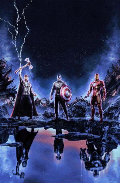 B-1474 Endgame Marvel Iron Man Thor Fabric Poster Wall Canvas Decoration 14x21 24x36 32x48inch