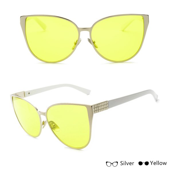 Silver W Yellow