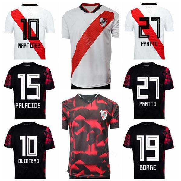 River Plate 2019 2020 Soccer 27 PRATTO Jersey 21 FERREIRA 15 PALACIOS 22 PINOLA 10 QUINTERO 19 BORRE SUAREZ Football Shirt Kits S-XXL