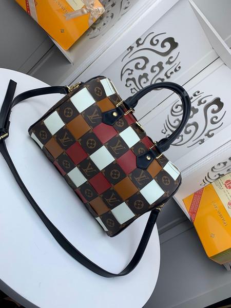 Классические мужские и женская сумка, плечо, само использование кожа, самый продаваемые моды, бесплатная модель доставки: размер M41114: 30-21-