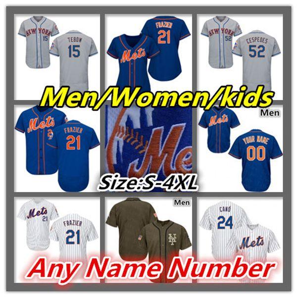 Mets Jersey Pete Alonso Marcus Stroman Robinson Cano Edwin Diaz NY Brandon Nimmo Jacob deGrom Michael Conforto Todd Frazier Wright Tebow
