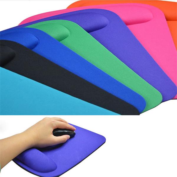 Ishowtienda 21 * 23 cm Jel Bilek Istirahat Destek Fareler Mat Pad Bilgisayar Pc Laptop Için Anti Kayma Profesyonel oyun Fare Pat