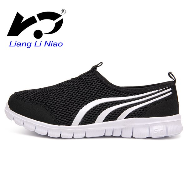 2019 femmes baskets respirant sport chaussures de course légères chaussures d'eau femmes hommes glissent sur la marche en plein air pas cher
