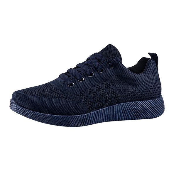 2019 Brand New Fashion Woman Sports Shoes Breathable Rubber Shoes Flying Woven Casual Candy Color Student Running
